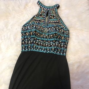 Black Short Homecoming Dress!